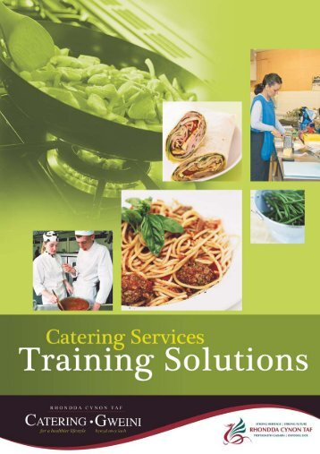 Catering Training Booklet - Rhondda Cynon Taf