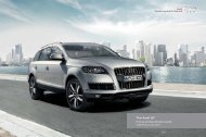 The Audi Q7 Pricing and Specification Guide - Audi Now