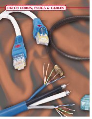 PATCH CORDS, PLUGS & CABLES