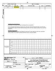 A Low Hydrogen Embrittlement Plating Process Specification Zinc ...