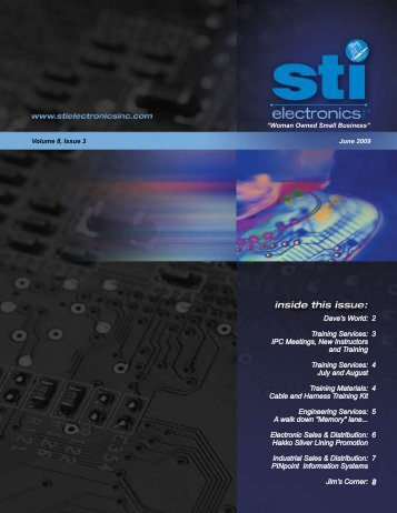 Training Services - STI Electronics, Inc.