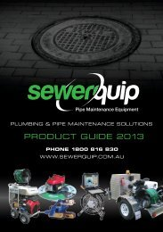 PRODUCT GUIDE 2013 - Sewerquip