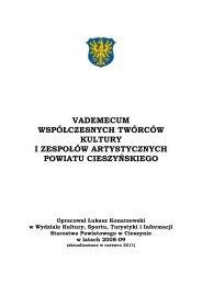 vademecum współczesnych twórców kultury i zespołów ...