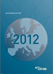 Geschäftsbericht 2012 - OHB AG
