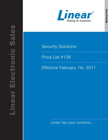Linear Electronic Sales - Access Hardware Supply