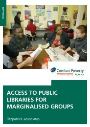 Access to Public Libraries for Marginalised Groups - Combat Poverty ...