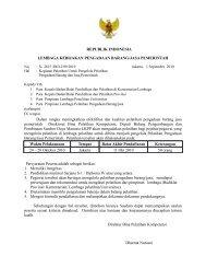 REPUBLIK INDONESIA LEMBAGA KEBIJAKAN PENGADAAN ...