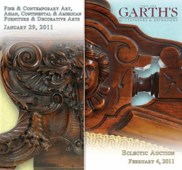 Fine & Contemporary - Garth's Auctions, Inc.