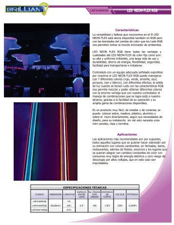 LED NEON-FLEX RGB