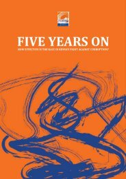 FIVE YEARS ON - Africa Centre for Open Governance