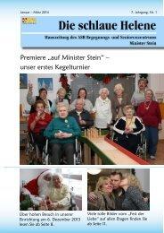 Hauszeitung Helene Ausgabe 1/2014 - ASB Begegnungs- und ...