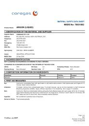 MSDS No: 70831002 ARGON (LIQUID) - BJH