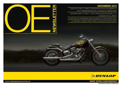 E W SL E T T ER - Dunlop Motorsport