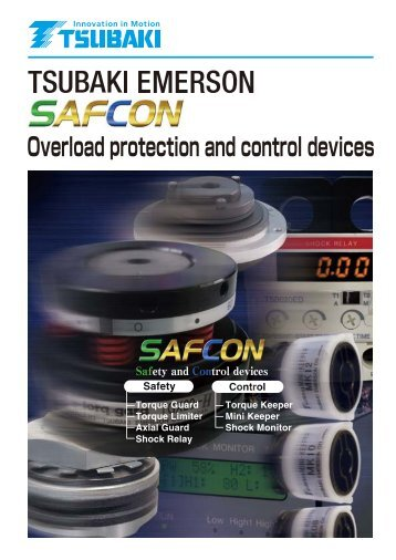 Overload protection and control devices - Tsubakimoto Chain Co.