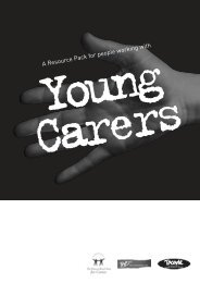 A Resource Pack for people working with - Young Carers