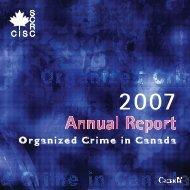 Organized Crime in Canada