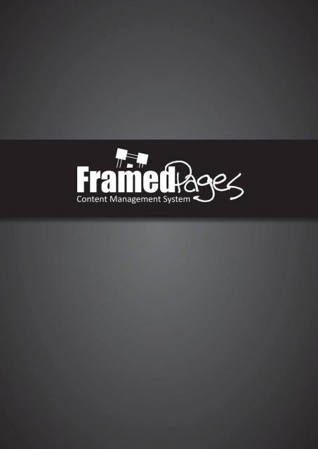 FramedPages Dokumentation Druckversion Doppelseitig