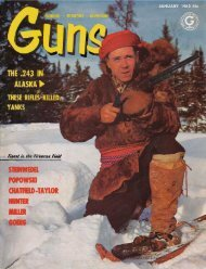 GUNS Magazine January 1962