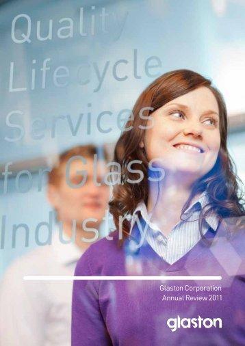 Glaston Corporation Annual Review 2011