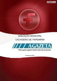 Avaliação Municipal CACHOEIRO DE ITAPEMIRIM/ES - FuturaNet