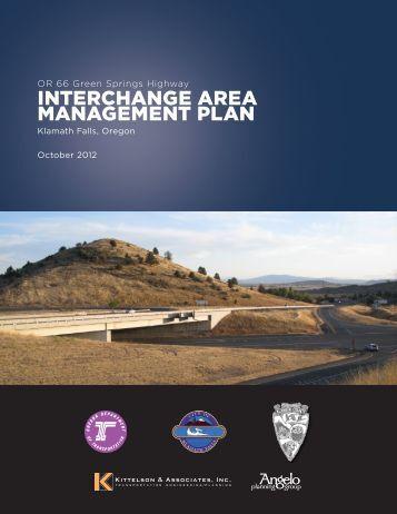 INTERCHANGE AREA MANAGEMENT PLAN - Klamath County