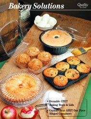 Bakery Containers - Genpak