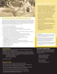 International Child Health Network, www.ichn.org, is
