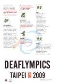 DEafLympiCs - Dansk Døve-Idrætsforbund - Page 7