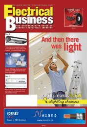 October 2006.pdf - Electrical Business Magazine