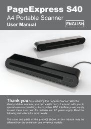 PageExpress S40 - Mustek System Inc.