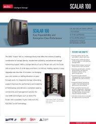 SCALAR 100 SCALAR 100 - Unylogix Technologies Inc.