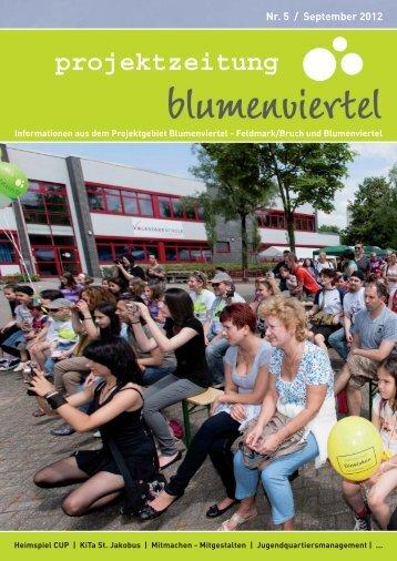 Projektzeitung Blumenviertel Ausgabe 5_V2.indd - Stadt Dinslaken