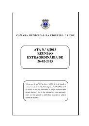 ATA N.º 6/2013 REUNIÃO EXTRAORDINÁRIA DE 26-02-2013