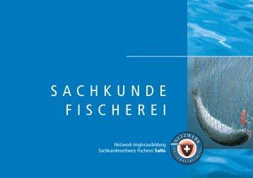 SACHKUNDE FISCHEREI - Fishfinder.ch