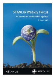STANLIB Weekly Focus - Liberty