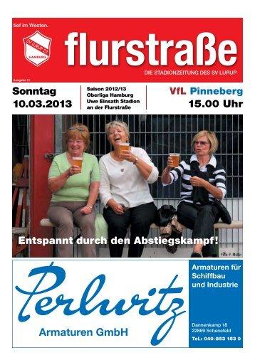 Flurstrasse Nr. 11 - Saison 2012/2013 - SV Lurup