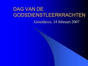 Spanning geloof - natuurwetenschappen - DPB Brugge