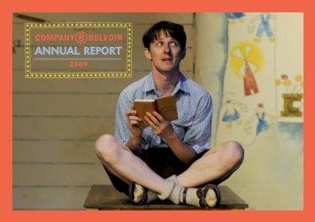 Company B Annual Report 2009 - Belvoir St Theatre