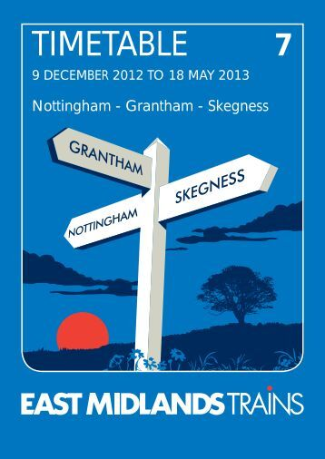 TIMETABLE - East Midlands Trains