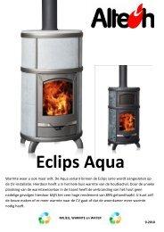 Handleiding Eclips Aqua - Altech