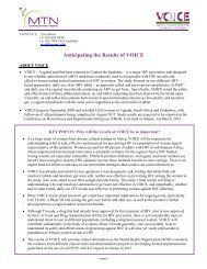 PDF version of this document - Microbicide Trials Network