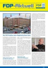 FDP-Aktuell - Ausgabe 1/2013 - FDP-Fraktion im Rat der Stadt Essen