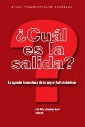 © Banco Interamericano de Desarrollo. Todos los derechos ... - Sidoc