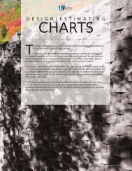Standard/Compac Estimating Charts - Keystone