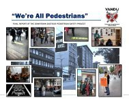 """""""We're All Pedestrians"""" - Pedestrian Safety Project - Vancouver Area ..."""