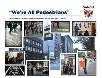 """We're All Pedestrians"" - Pedestrian Safety Project - Vancouver Area ..."