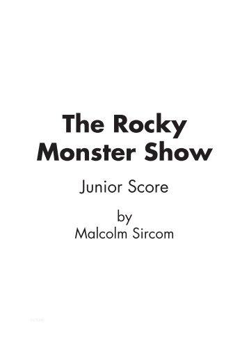 Sample Score (Grade 6/7 Standard) - Musicline