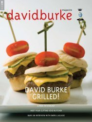 DAVID BURKE GRILLED! - HauteLife Press