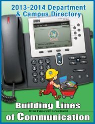 Phone Directory 2013-2014 - United Independent School District