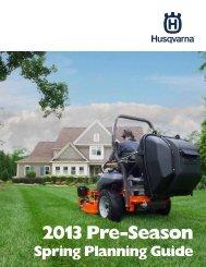 2013 Pre-Season - Husqvarna Group